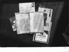 Adolf Eichmann`s belongings.
