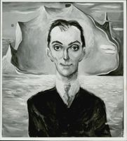 Conductor Igor Markevitch, painted by Johan Castberg