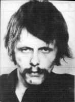 Jan Carl Raspe member of the West German terrorist league Bader-Meinhof.