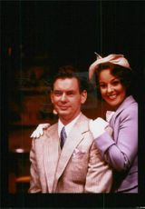Actress Ruthie Henshall and John Gordon Sinclair