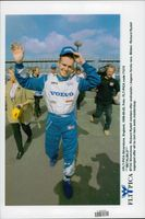 In the second place in the first race, Rickard Rydell secured the champion title in the British Touring Car Championship at Silverstone.