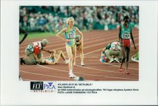 Sara Wedlund has sprung the 5000 meter finale during the Olympics.