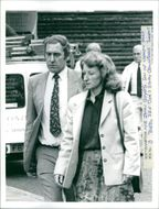 Dr Nigel Cox with wife.