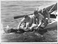 Red Cross training in water