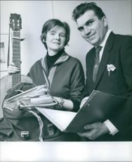 James Clifford and his wife, Jill.
