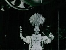 Man performing on the Rio Carnival.