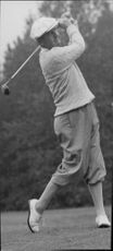 Golf player Bobby Locke