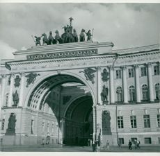 Winter Palace in St. Petersburg