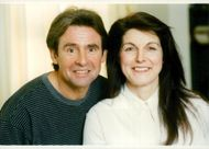 Davy Jones (The Monkees) together with his wife Anita