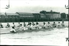 Cambridge University crew.