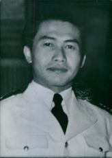 Portrait of Colonel Subjakto.