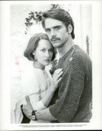 """Actors Meryl Streep and Jeremy Irons in the movie """"The French Lieutenant's Woman"""""""