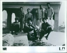 A group photo of War (band).