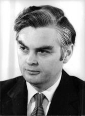 Portrait of Norman Lamont.