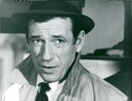 "Yves Montand in the movie ""Death's coupe"""