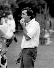 Portrait picture of Seve Ballesteros taken in conjunction with SEO.