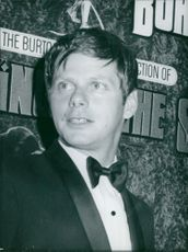 Robert Morse close-up.