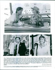 Stills from the film Mr. Wrong with Ellen DeGeneres, Bill Pullman and Frank Lugo.