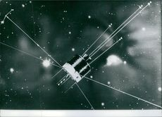 An Artist's impression of Europe's first geostationary scientific satellite