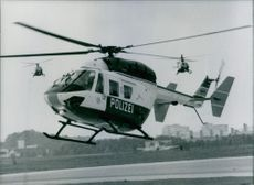 West Germany Aircraft: Police Helicopter BK 117 1984
