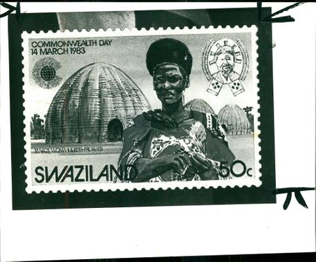 Postage Stamp 'Swaziland' for Commonwealth Day, 1983