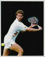 Tennis player Andrew Foster