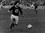 Action image of Branko Markovic taken at an unknown food occasion.