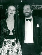 Sarah Miles along with her husband Robert Bolt