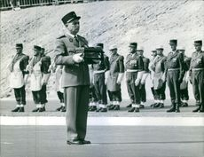 Foreign Legion Award Ceremony