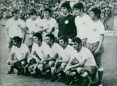 Group photo of yugoslav team.