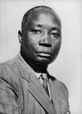 Vintage photo of Isaac Okwirry.