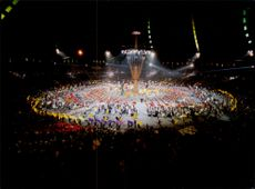 Opening ceremony at the 1992 Winter Olympics in Albertville 1992