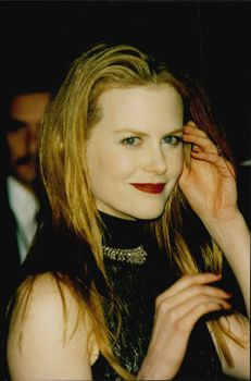 """Nicole Kidman at the premiere of """"Peacemaker""""."""
