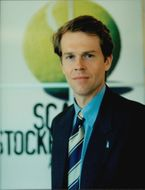 Stefan Edberg, Deputy Competition Manager for Scania Stockholm Open 1997