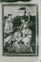 """""""St. George and the Dragon"""" from the 1470s that disappeared and appeared again"""