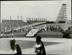 The opening of the Winter Olympics in 1968