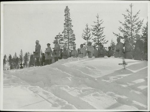 Sweden volunteers in Finland 1940
