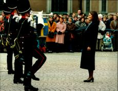Crown Princess Victoria was raised on his name's day at Stockholm Castle