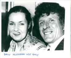 Arthur Hutchinson with french girl mother friend.