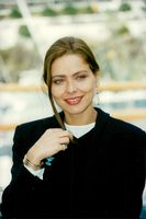 Portrait picture of actress Ornella Muti taken when she launched her series of Italian wines.