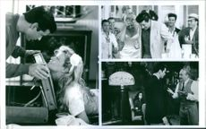 """Alec Baldwin and Kim Basinger stars in an American 1991 romantic comedy film, """"The Marrying Man."""""""