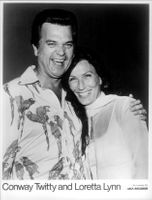 Country singer Loretta Lynn along with Conway Twitty.