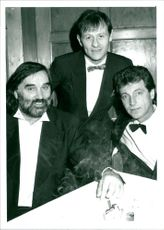 George Best, Alex Higgins and Tommy Boyle