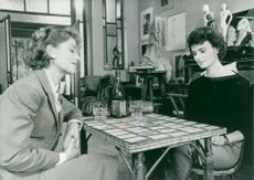 "Isabelle Huppert and Miou-Miou in ""French Friends"""
