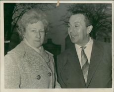 Mrs Elsie Morgan And mr Maurice Taylor.