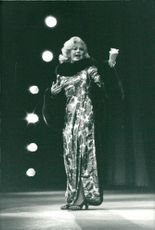 Ginger Rogers performs in Paris