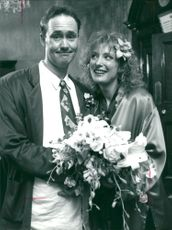 Nigel Planer and Kate Buffery.