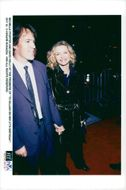 """Scriptwriter David E. Kelley with his wife Michelle Pfeiffer at the premiere of """"Till Gillian on her 37th birthday"""""""