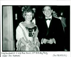 King Constantine of Greece and wife Ann Marie