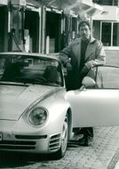 Motor editor Anders Hultman approves the new Porschen 959